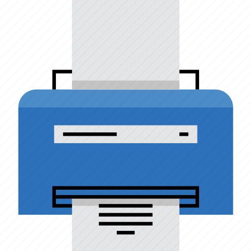 document, laser, office, paper, print, printer, work icon