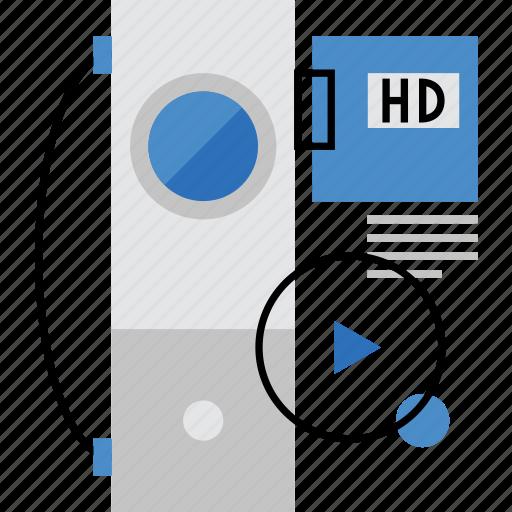 camera, cinema, film, hd, projector, shooting, video icon