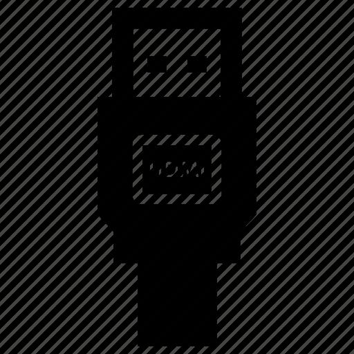 gadget, hdmi, tech icon
