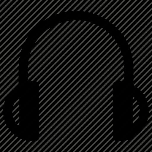 electronic, gadget, headphone icon