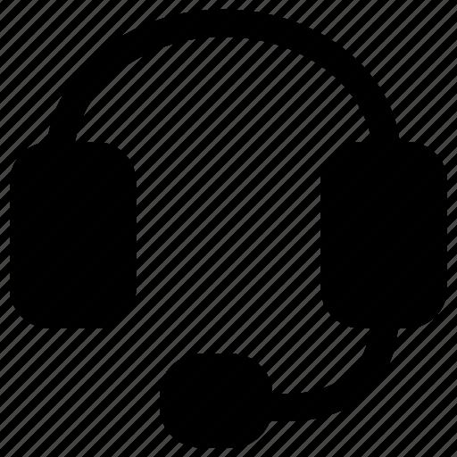 electronic, gadget, headset, tech icon