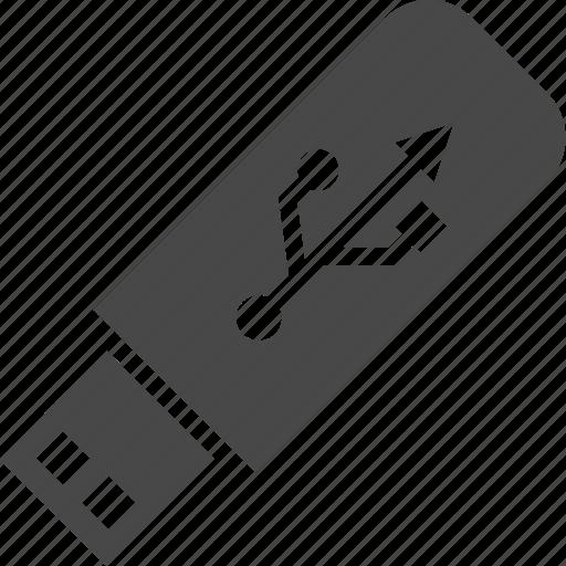 device, electronics, flash drive, technology, usb icon