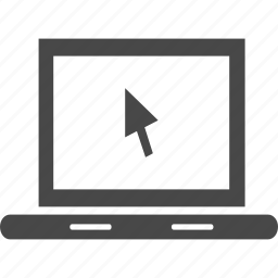 computer, device, electronics, notebook, screen, technology icon