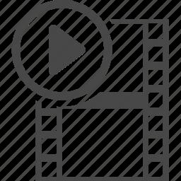 electronics, media, mobile, multimedia, technology, video icon