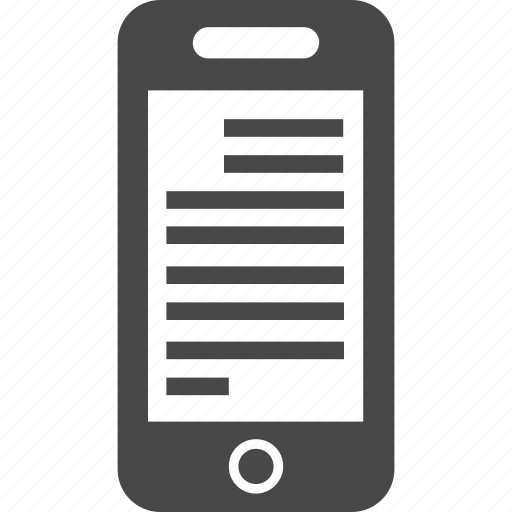 device, electronics, mobile, phone, smartphone, technology, telephone icon