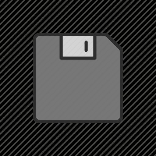 data, device, disk, floppy, memory, old, storage icon