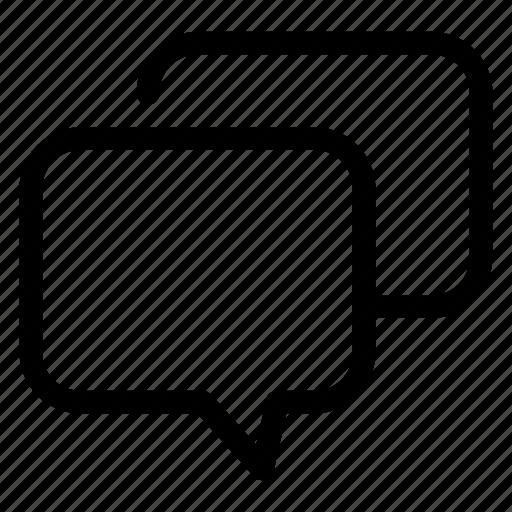 .svg, bubble, chat, communication, community, conversation, forum, group, interaction, message, talk icon