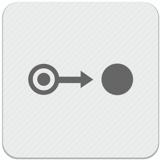 aim, design, material, point, pointer, target, way icon