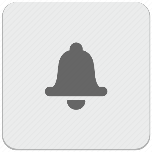 alarm, bell, design, material, ring, signal icon