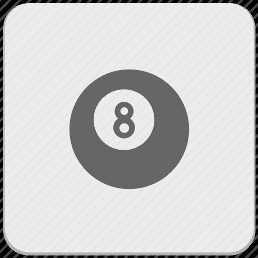 ball, billiard, design, enjoy, game, material icon