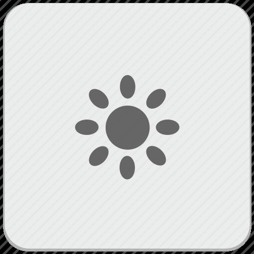 bright, color, design, material, settings, temperature icon