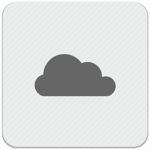 cloud, design, material, storage, technology, weather icon
