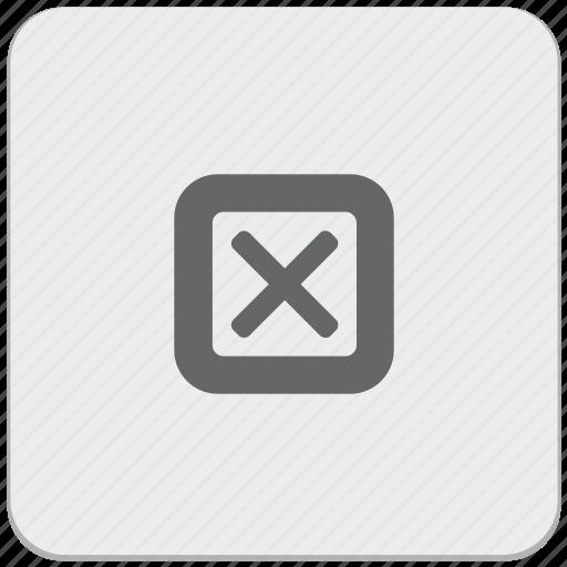 cancel, choice, delete, design, material, option, ui icon