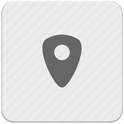 design, geo, material, navigation, place, pointer icon