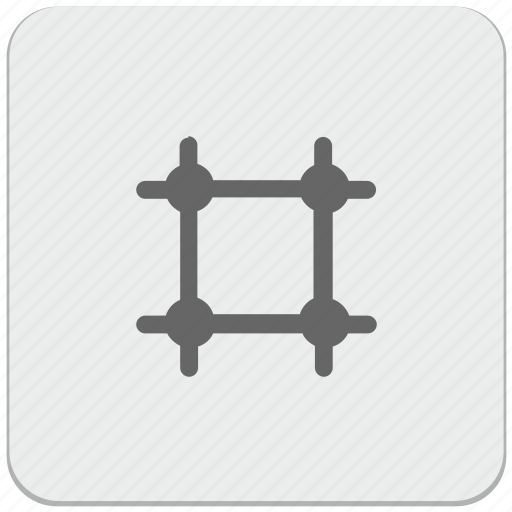 cell, design, grid, material, transformation icon