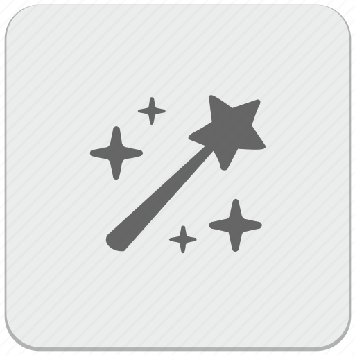design, instrument, magic, material, wand icon