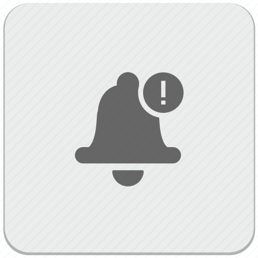 alarm, bell, design, material, ring, signal, warning icon