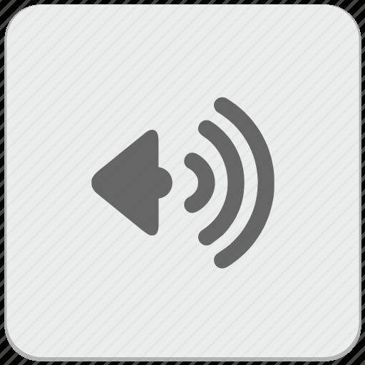 design, material, music, sound, speaker icon