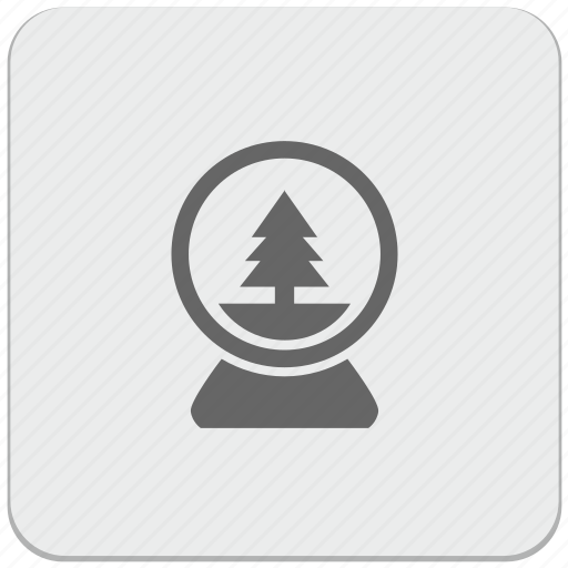 ball, christmas, design, fir, glass, material, toy icon