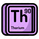 thorium, element, atomic, atom, mendeleev, chemistry