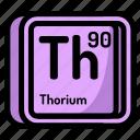 atom, atomic, chemistry, element, mendeleev, thorium icon