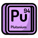 element, atomic, atom, mendeleev, chemistry, plutonium