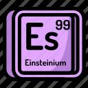 element, atomic, atom, mendeleev, chemistry, einsteinium