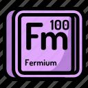 element, fermium, atomic, atom, mendeleev, chemistry