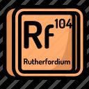 rutherfordium, element, atomic, atom, mendeleev, chemistry