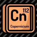 atom, atomic, chemistry, coppercinium, element, mendeleev icon