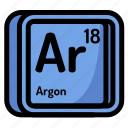 element, argon, atomic, atom, mendeleev, chemistry