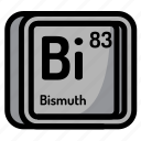 atom, atomic, bismuth, chemistry, element, mendeleev icon