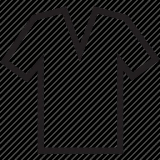 tshirt, vneck icon