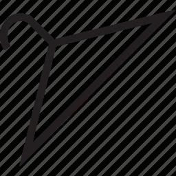 cloths, hanger icon
