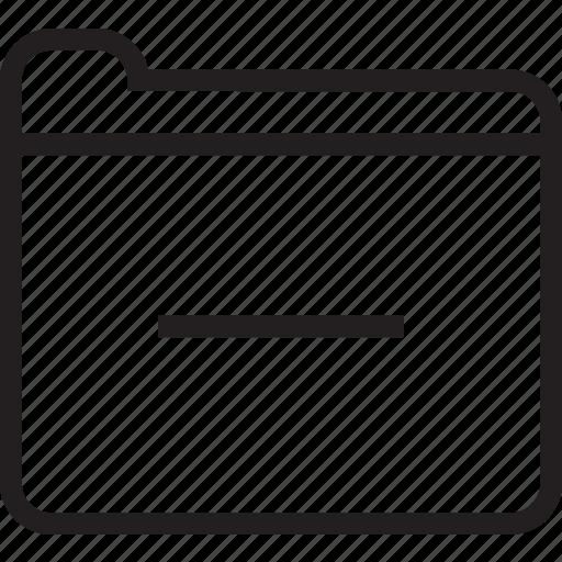 folder, sub icon