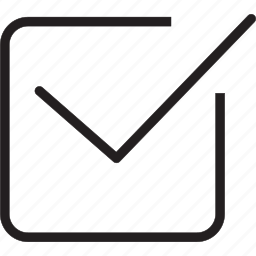check, task icon