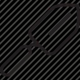garden, spade icon