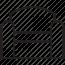 chair, sofa icon