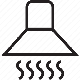 stove, vent icon