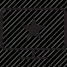 star, tv icon