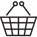 basket, shopping icon