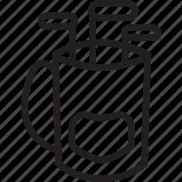 bag, golf icon