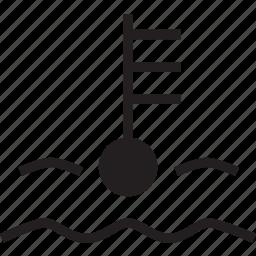 car, temp icon