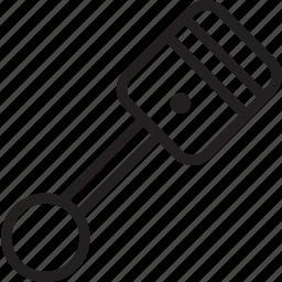 cylinder, engine icon