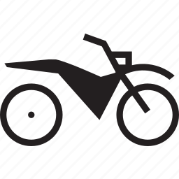 bike, motor icon