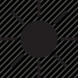 fill, sunny icon