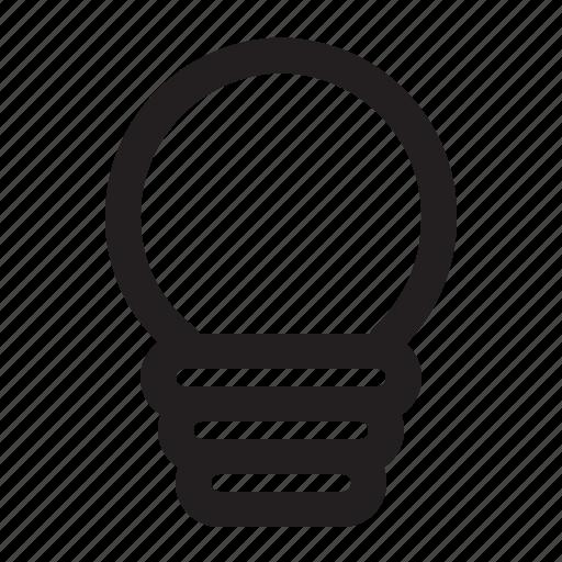 electronics, elektronika, lamp, service icon