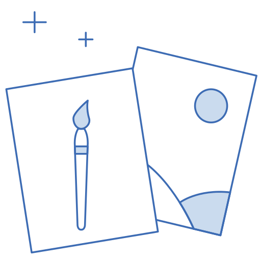 graphic, illustration icon