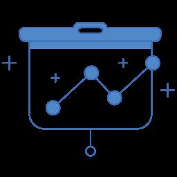 analytics, charts, diagram, graph, marketing icon