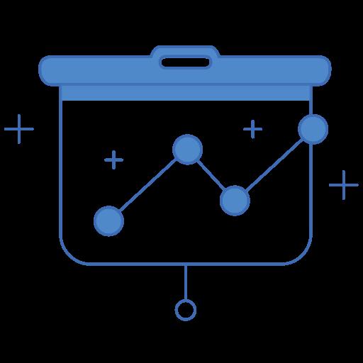 Analytics, charts, diagram, graph, marketing icon - Free download